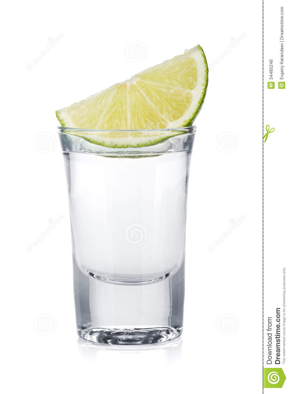 Shot Of Vodka And Lime Slice Royalty Free Stock Image - Image ...