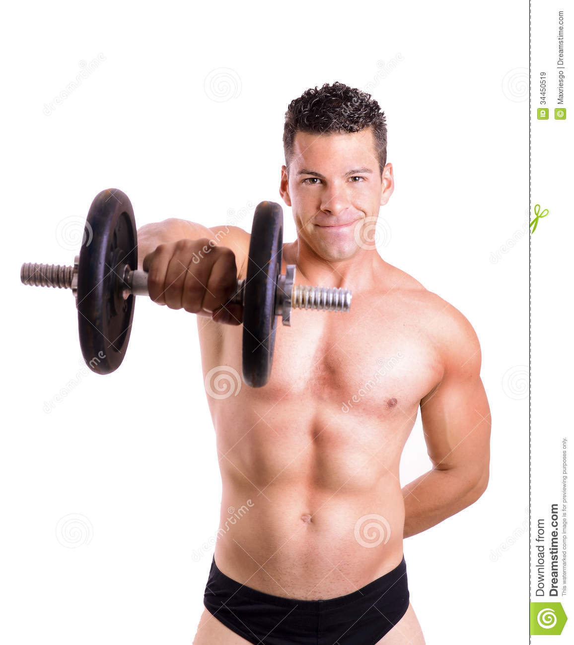 Shoulder Exercise Royalty Free Stock Images - Image: 34450519