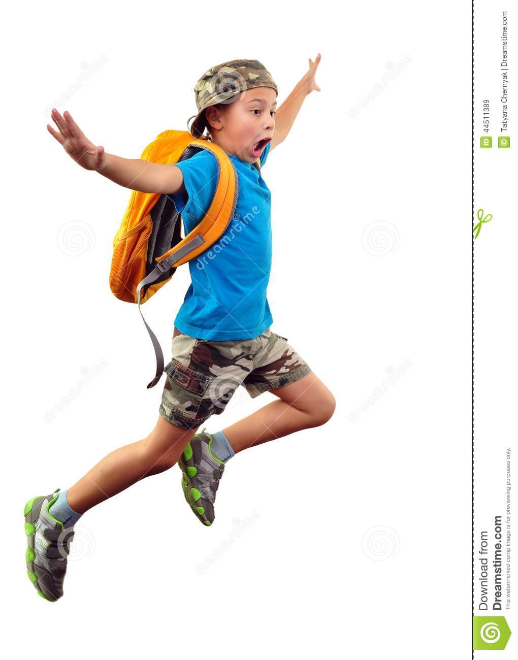 shouting jumping boy isolated over white stock photo Clip Art Moving Out Clip Art Moving Out