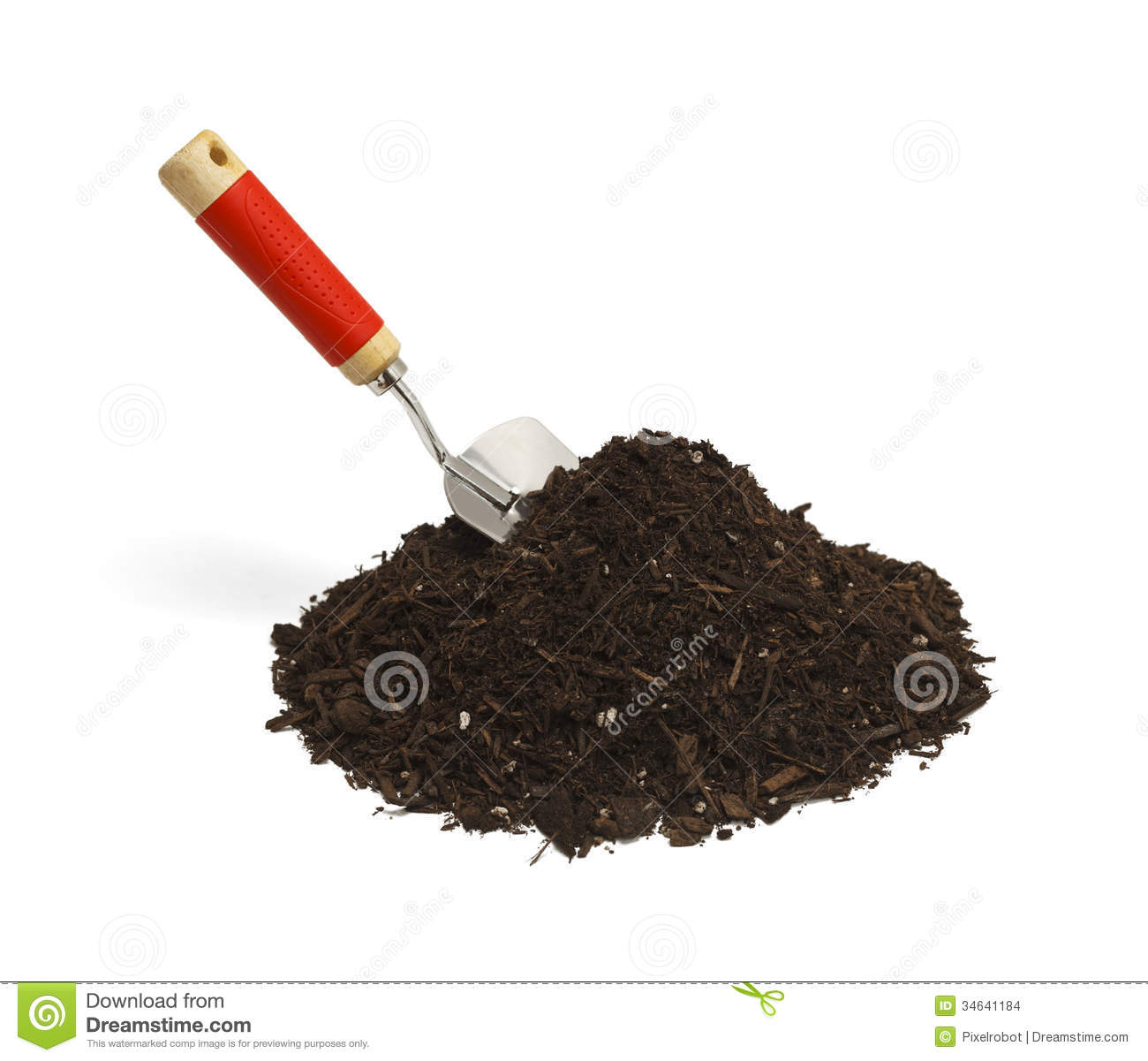 Shovel And Dirt Stock Images Image 34641184