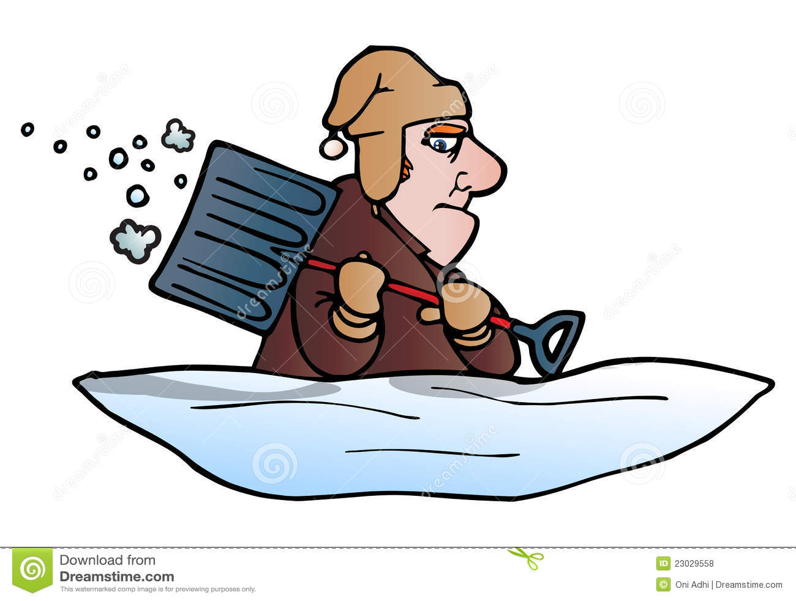 shoveling snow clipart | Logo More