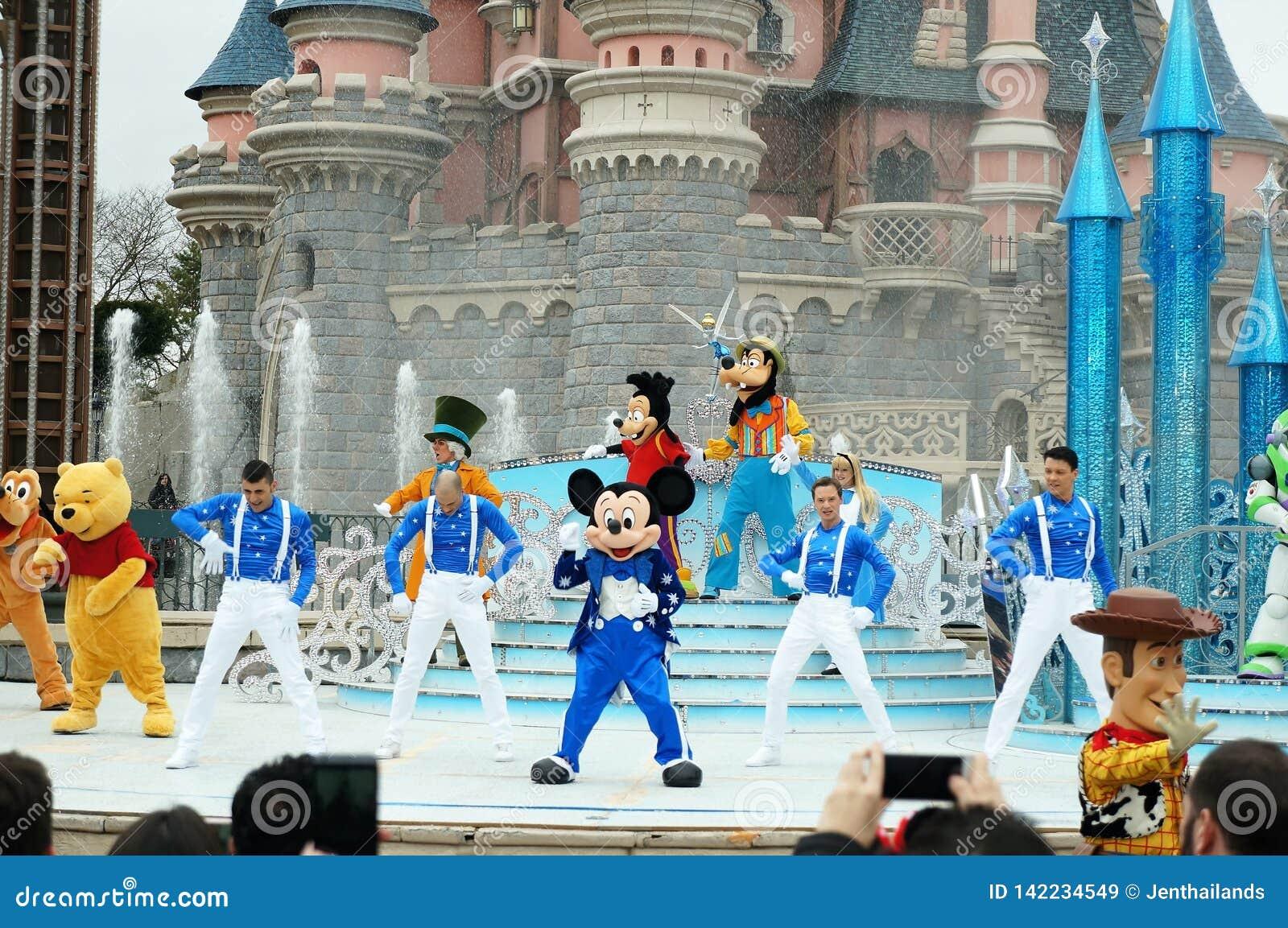 Show bei Disneyland Paris