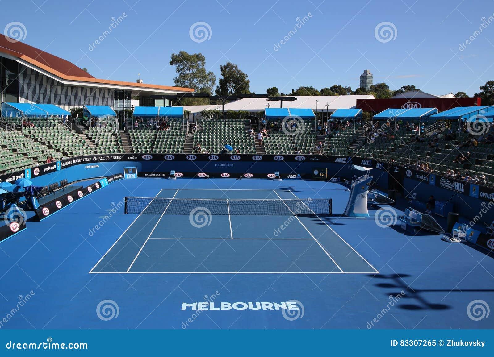Show Court 2 During Australian Open 2016 At Australian Tennis Center