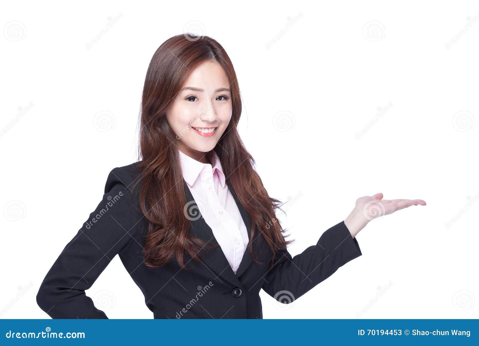 Show för affärskvinna något