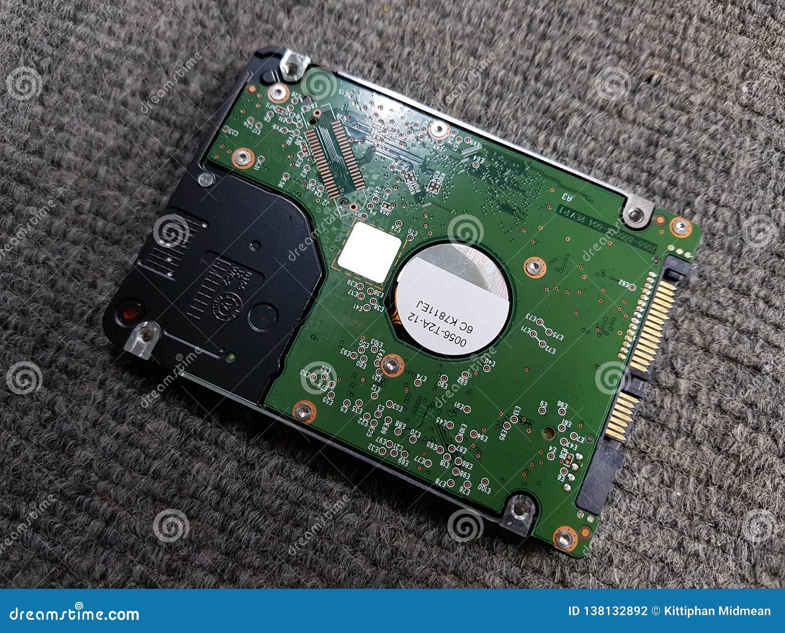 Show harddisk notebook