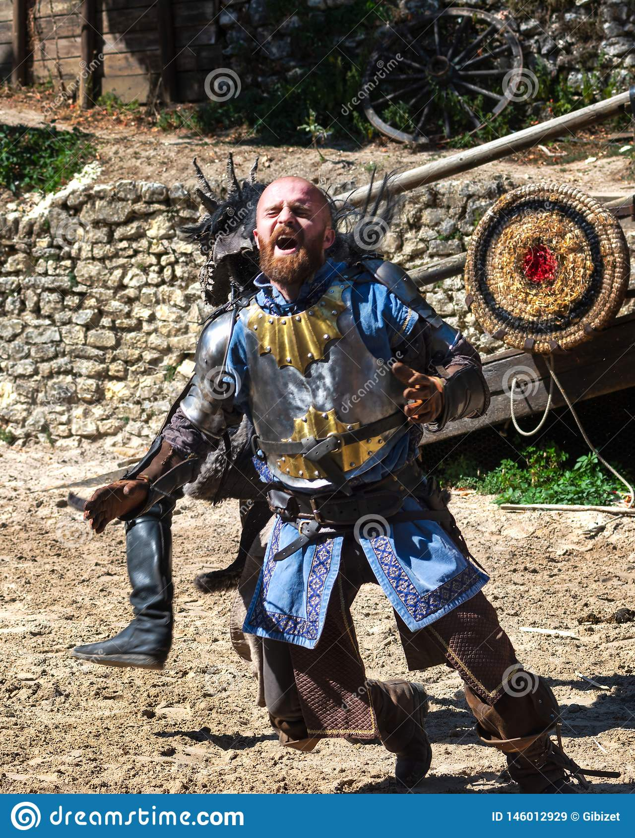 The Show:  The Legend of Knights in Provins, France