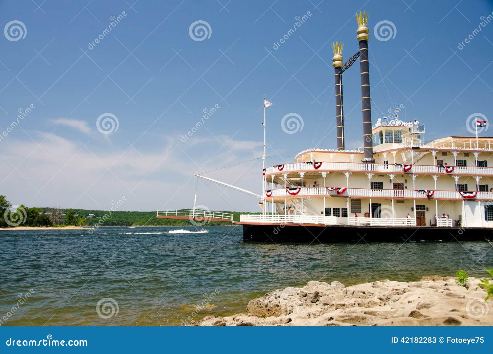 Showboat do rio em Branson