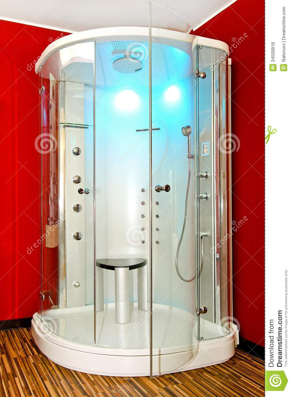 shower cabin royalty free stock photos image 34509918