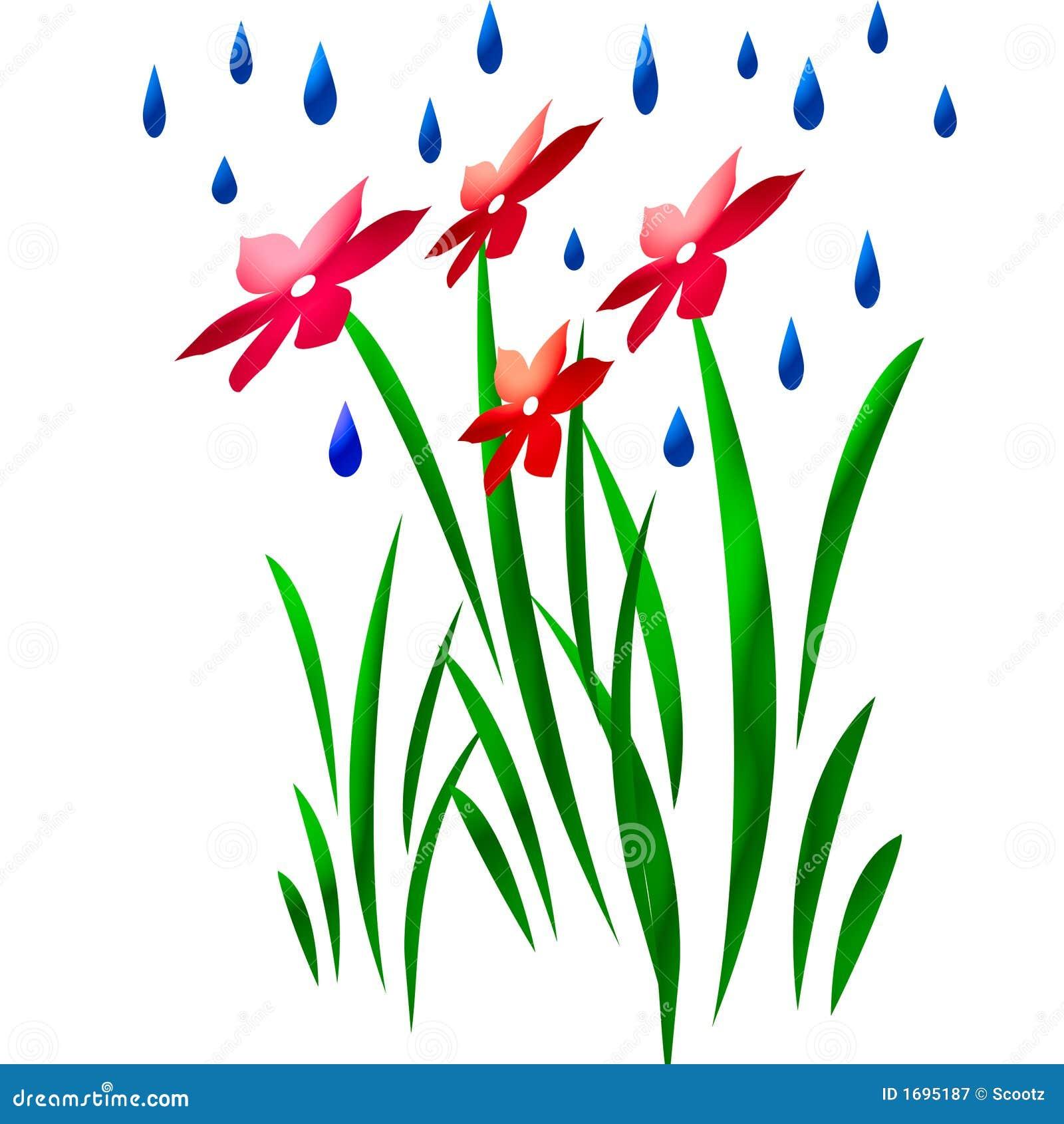 Rain Falling Clip Art