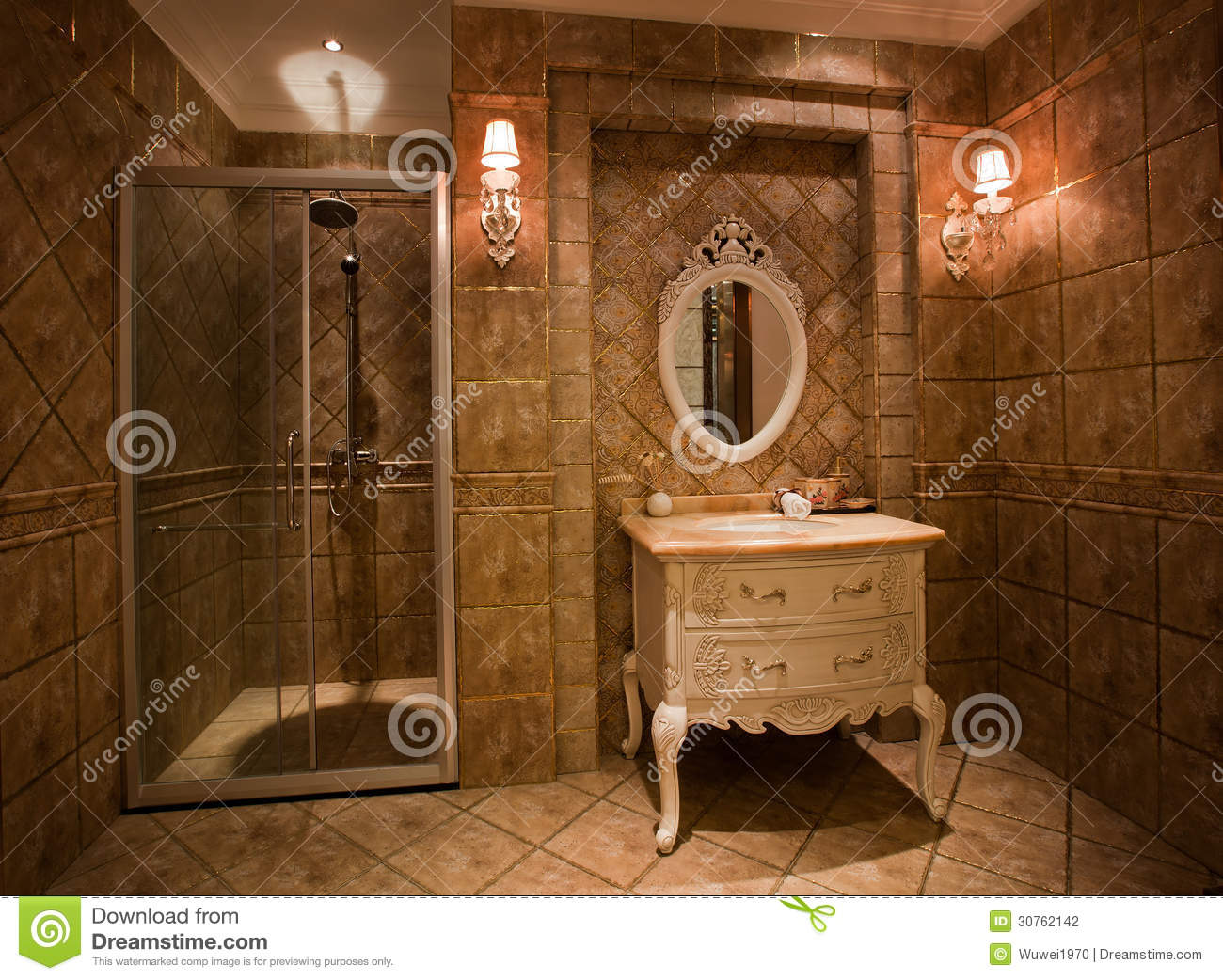 The shower room stock photography image 30762142 - Doucheruimte m ...