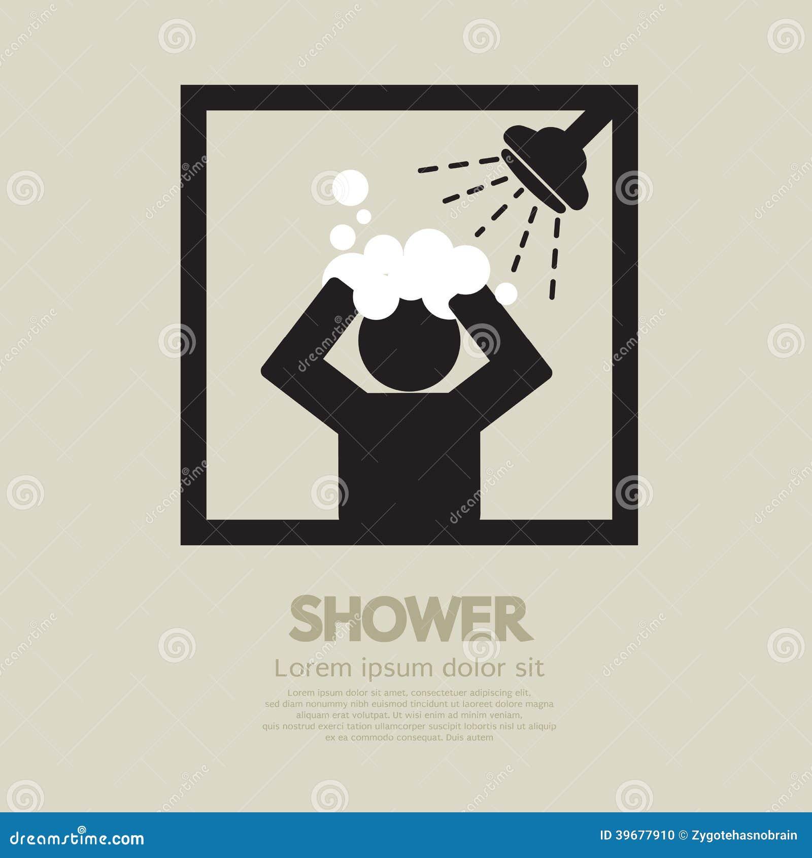 Shower Stock Vector Image 39677910
