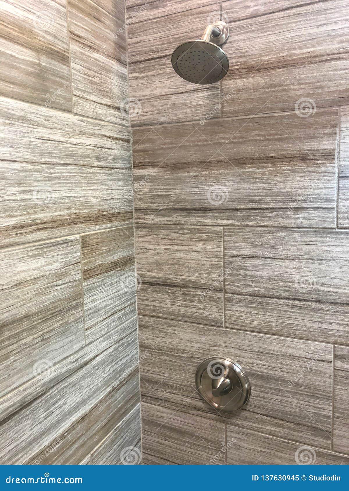 Shower tiles newly installed inside my bathroom
