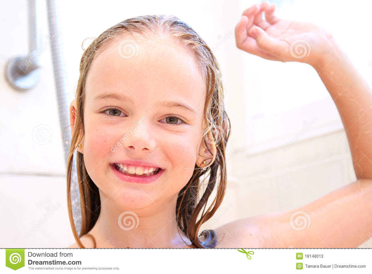 Shower Time Stock Photos Image 18148013