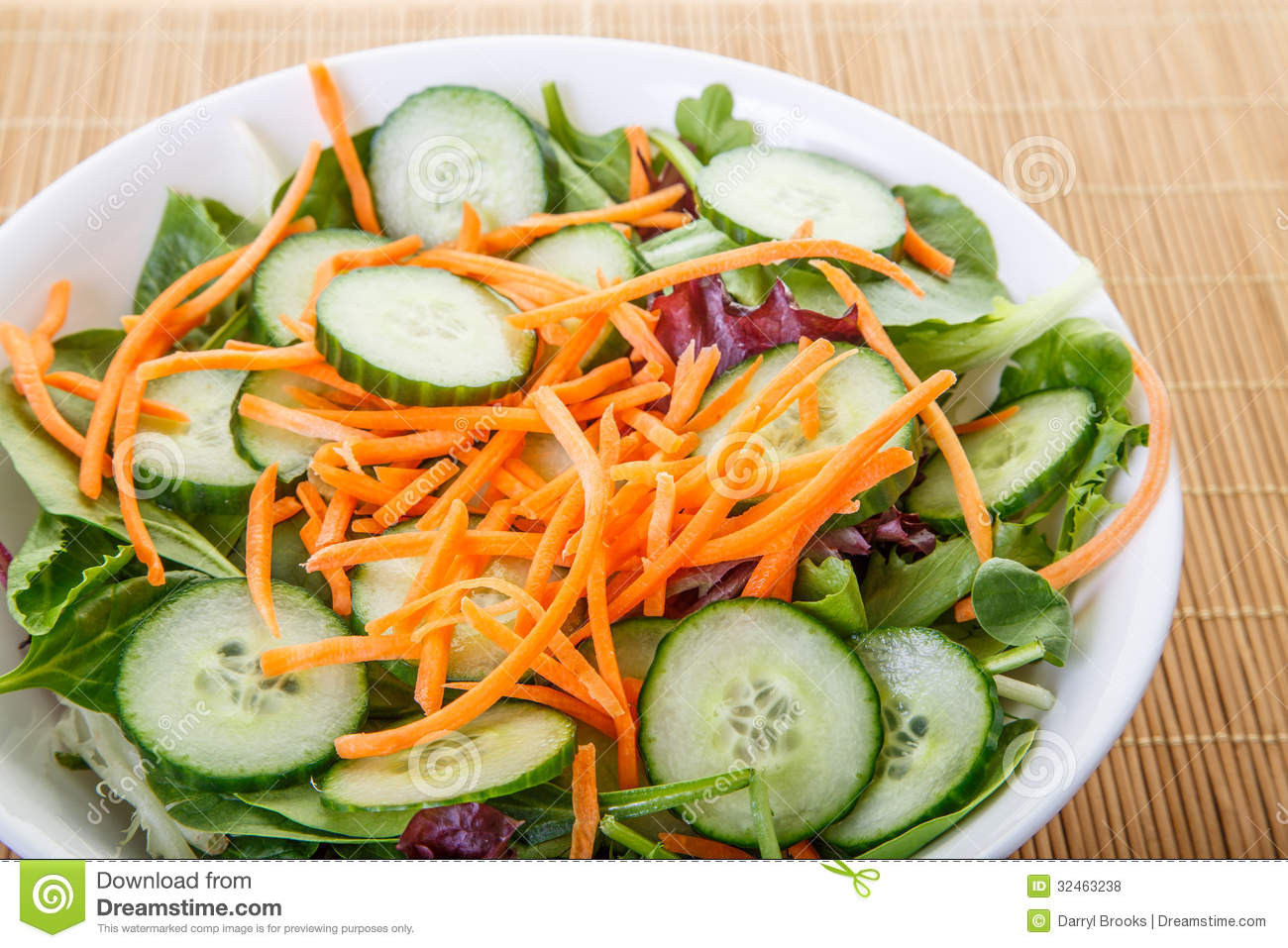 Shredded Carrots On Salad Closeup Royalty Free Stock Photos - Image ...