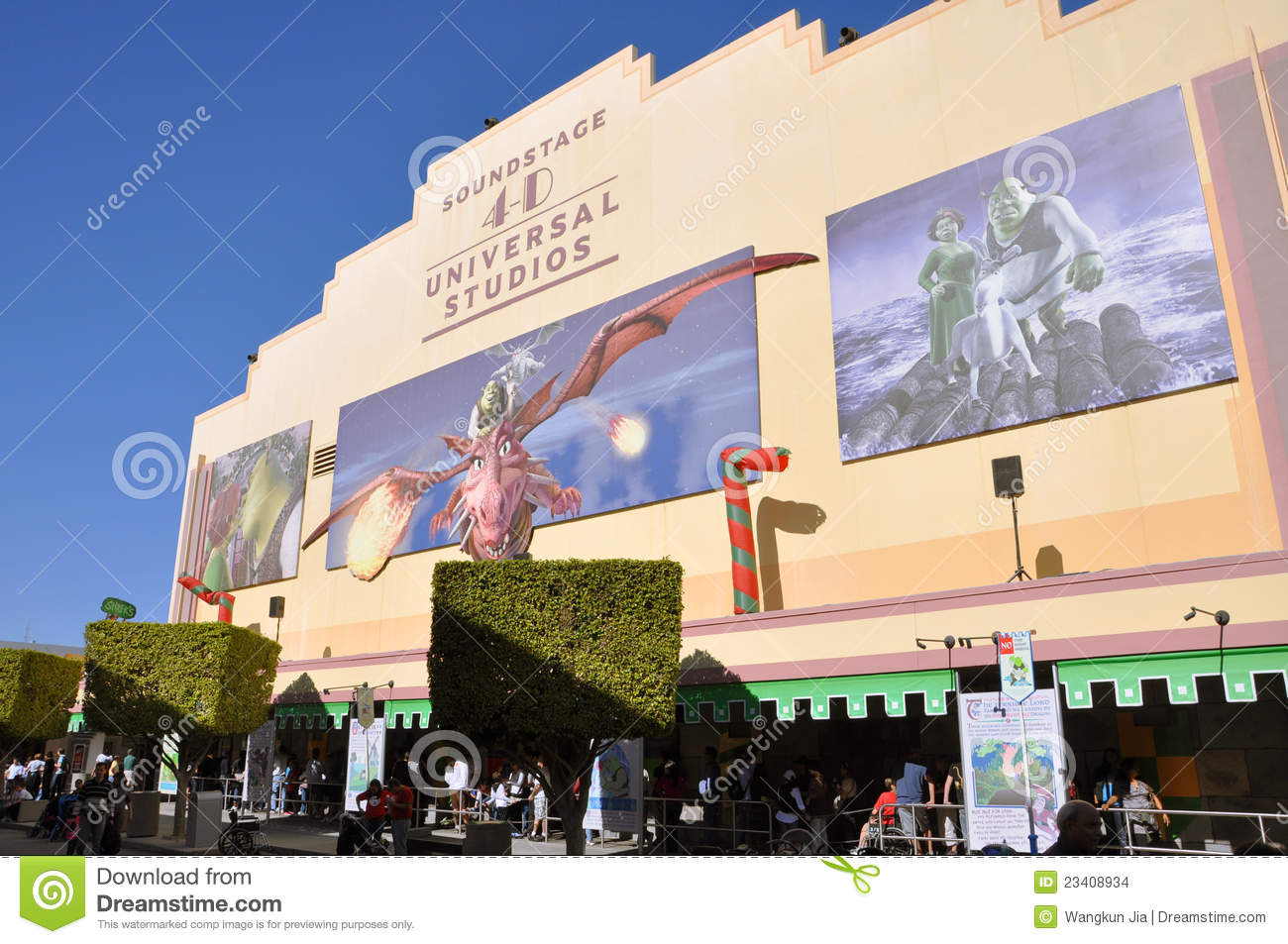 Shrek 4 D Film In Universal Studios Florida Fl Usa