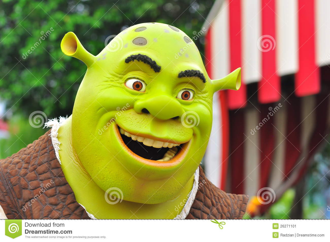 Shrek 2 Cartoon Characters : Shrek cartoon character editorial photo image of