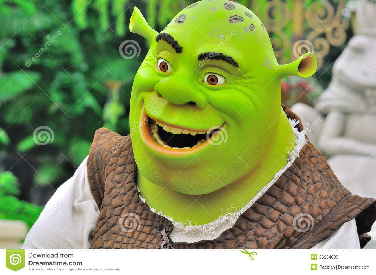 Shrek 2 Cartoon Characters : Shrek cartoon character editorial image