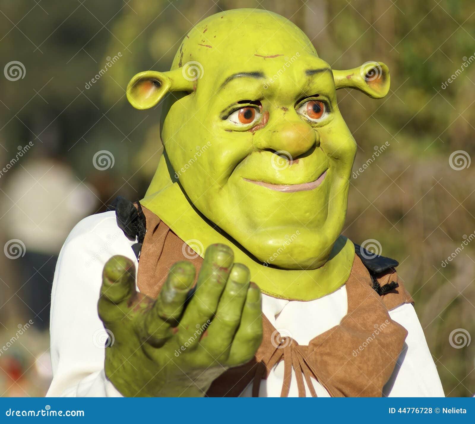 Shrek Mask Editorial Stock Photo Image 44776728
