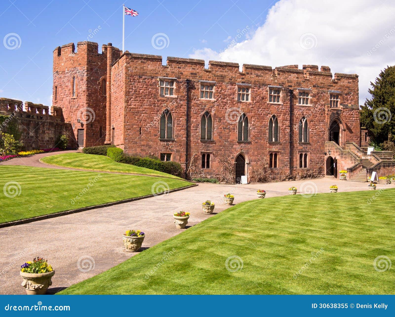 Shrewsbury Castle, Shropshire, England