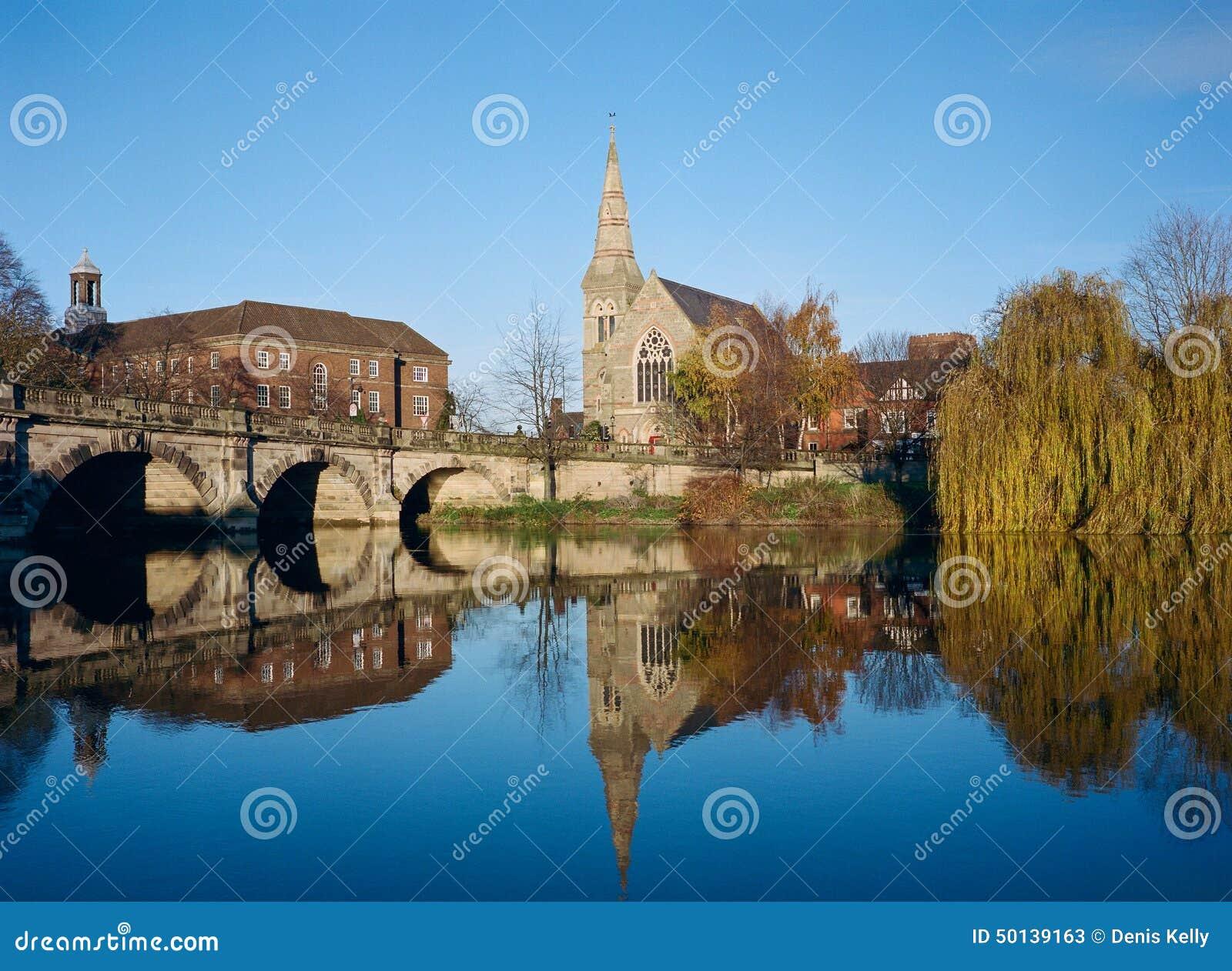 M S Shrewsbury Shrewsbury On The Rive...