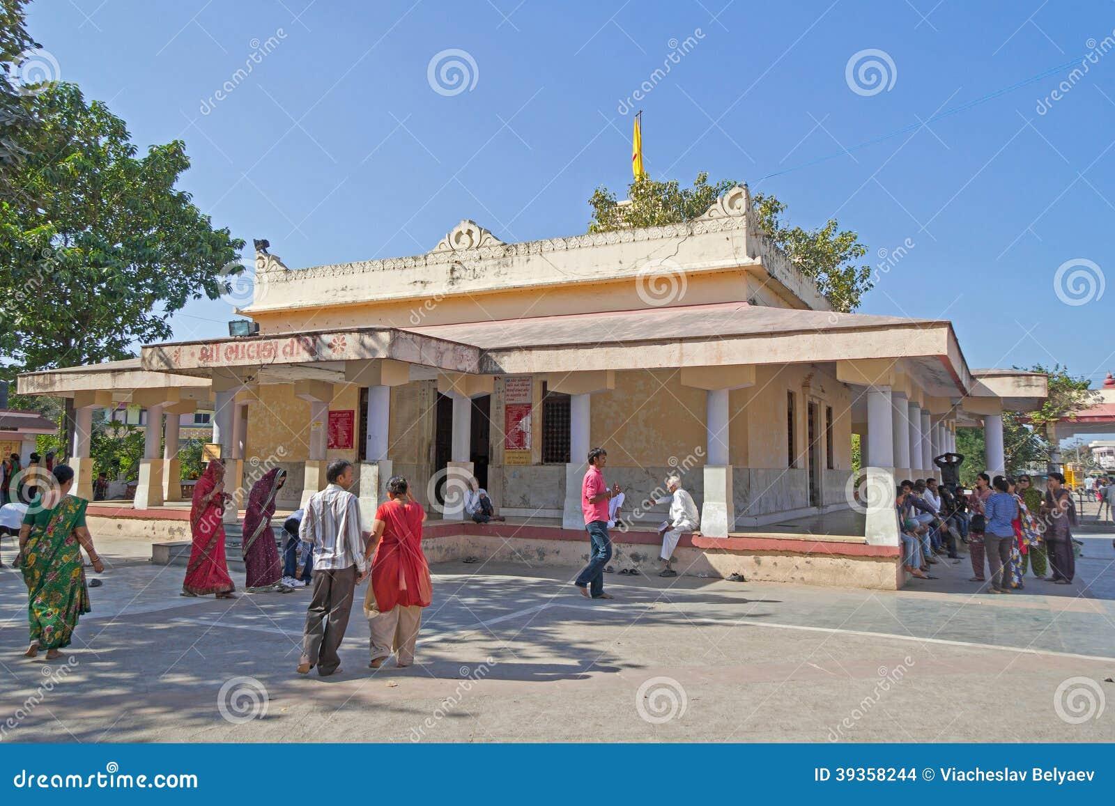 Shri Krishna-tempel in Bhalka Tirtha, Gujarat