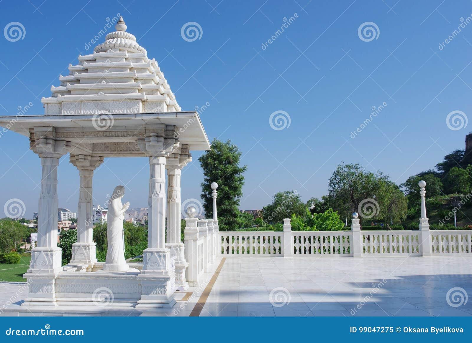 Shri Lakshmi纳拉扬寺庙Birla Mandir,斋浦尔,印度