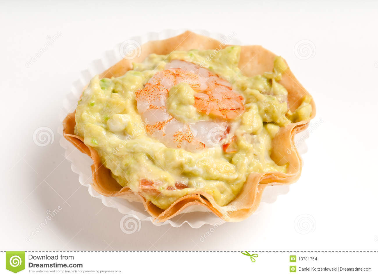 Shrimp and avocado volauvent stock images image 13781754 for What does canape mean in french