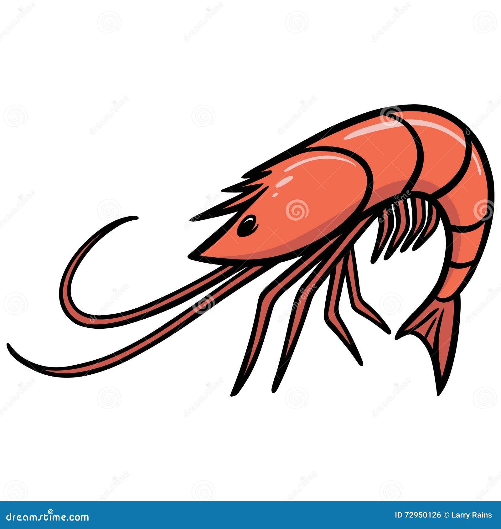 shrimp icon stock vector illustration of stem painting 72950126 rh dreamstime com free clip art pancakes free clip art praying on knees
