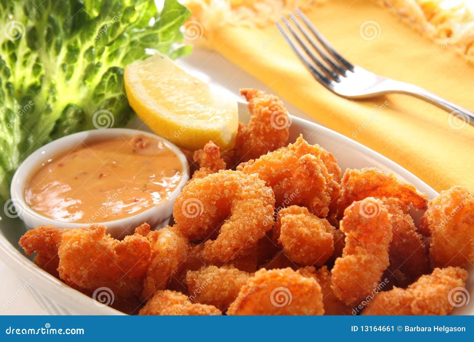 Shrimp meal.