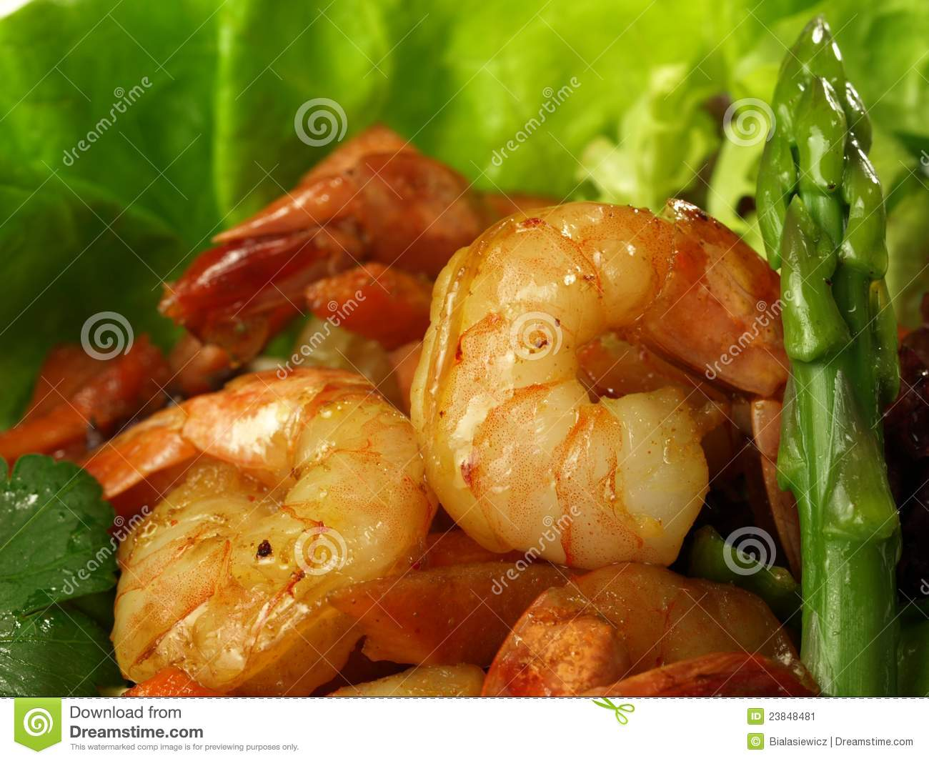 Asparagus Salad With Shrimp Recipes — Dishmaps