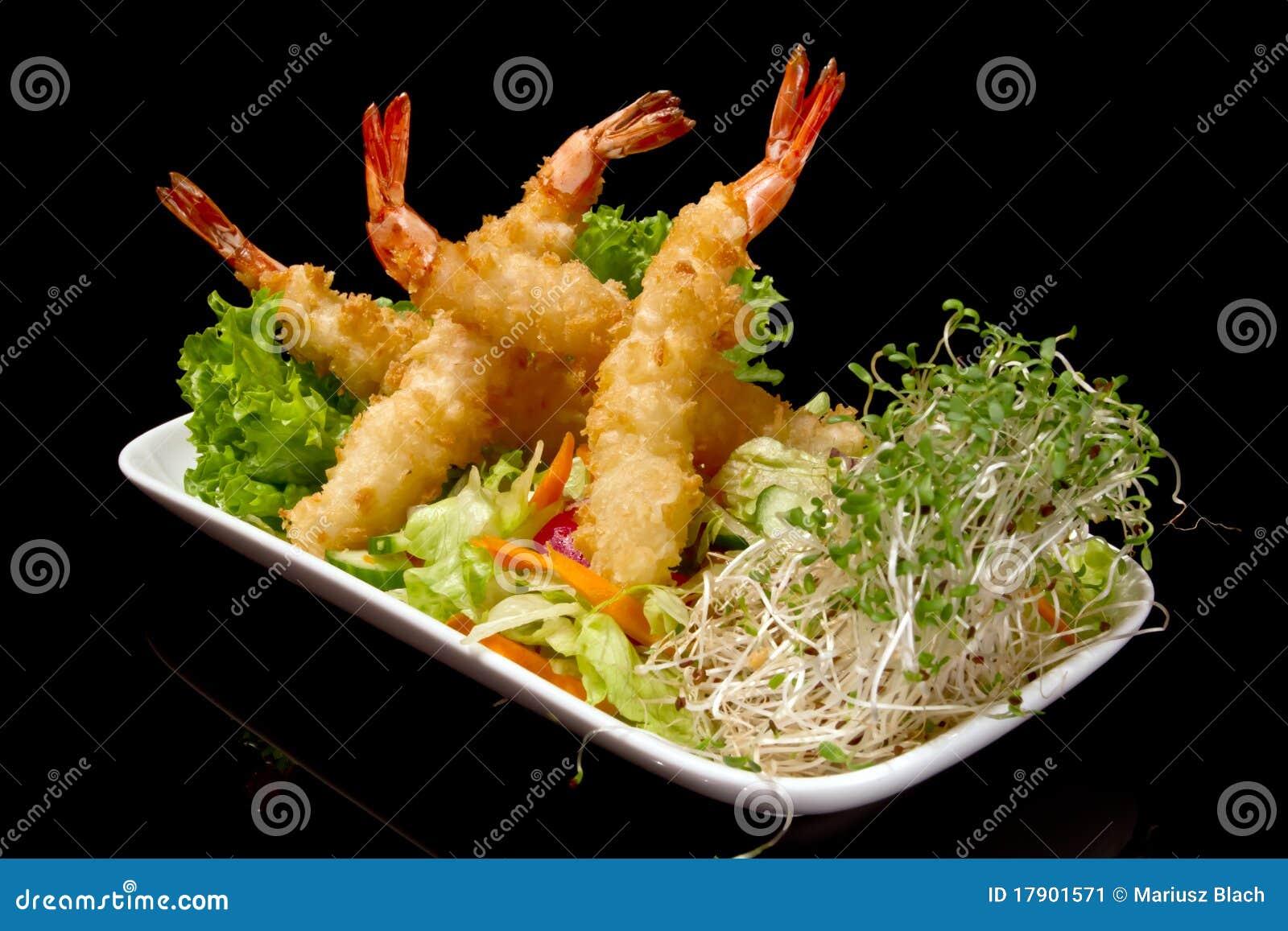 Shrimp Tempura Stock Image Image Of Nigiri Meal Fresh 17901571