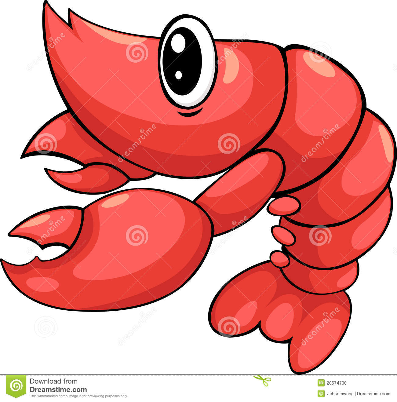 Cooked Shrimp Clipart Shrimp vector
