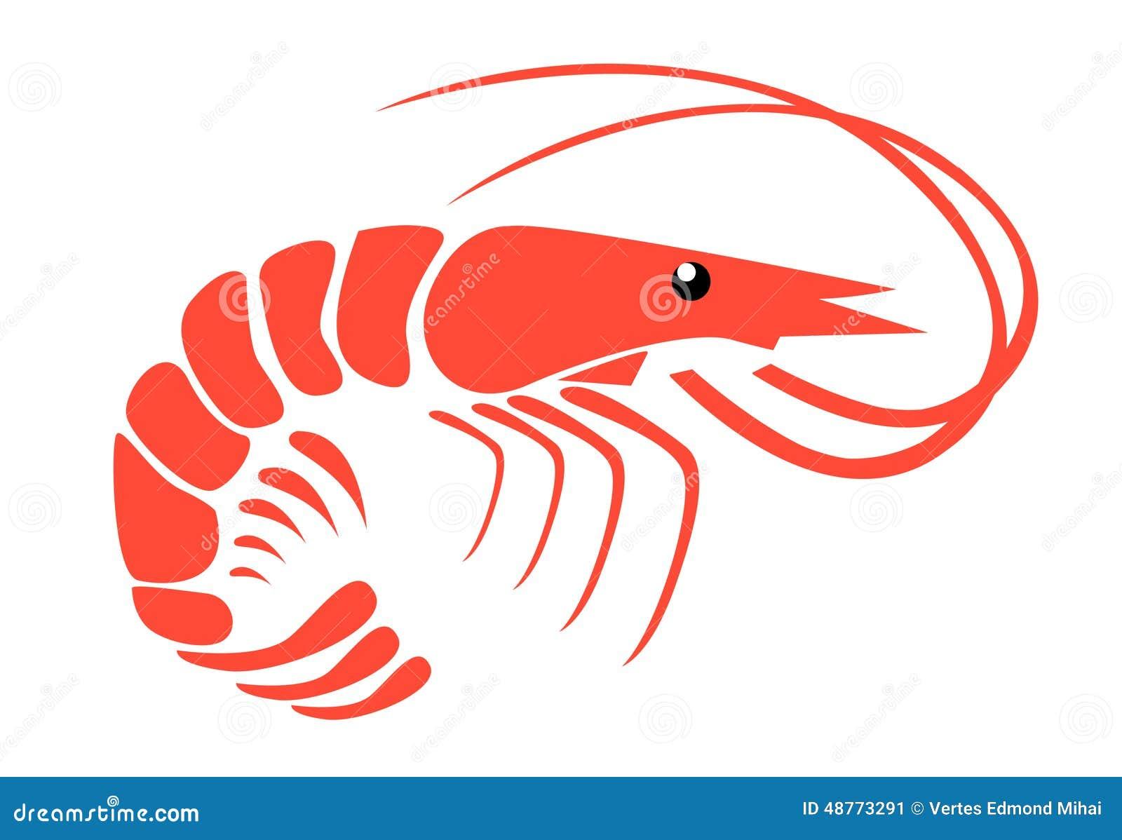 shrimp stock vector image 48773291 Shrimp and Fish Dish Clip Art Shrimp and Fish Dish Clip Art
