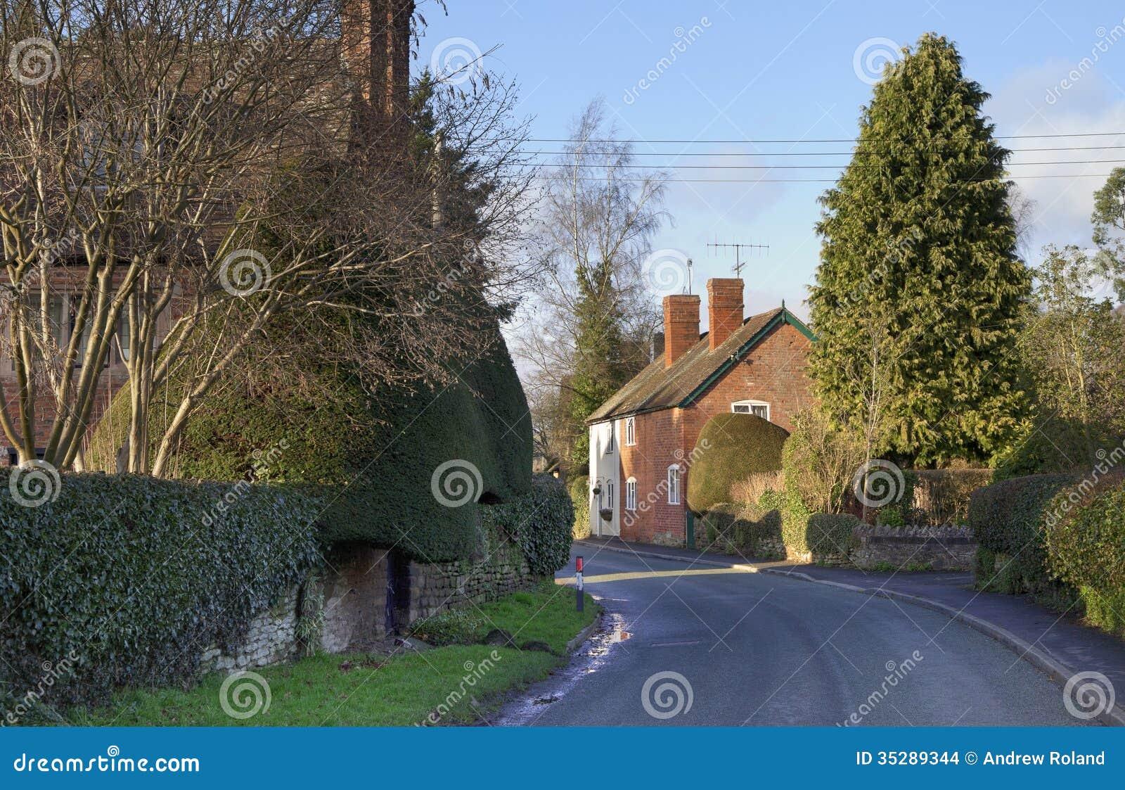 Shropshire wioska