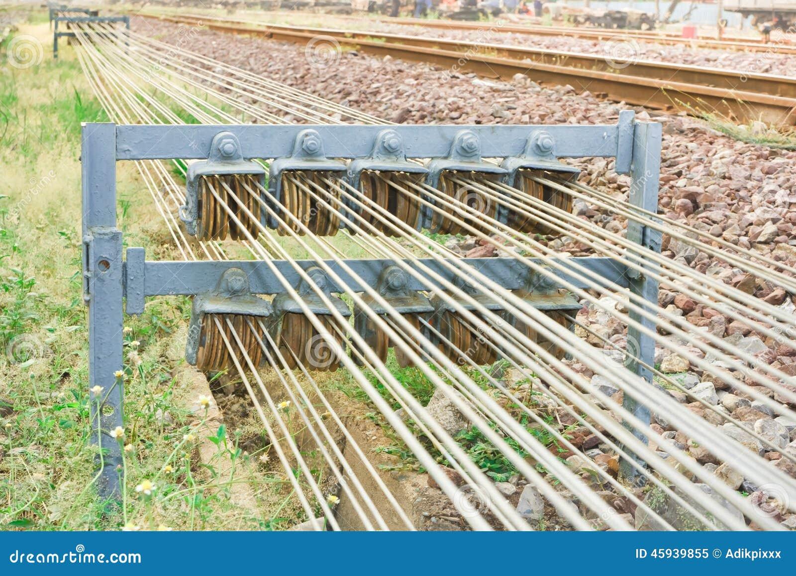 Shunt equipments. stock image. Image of device, railway - 45939855