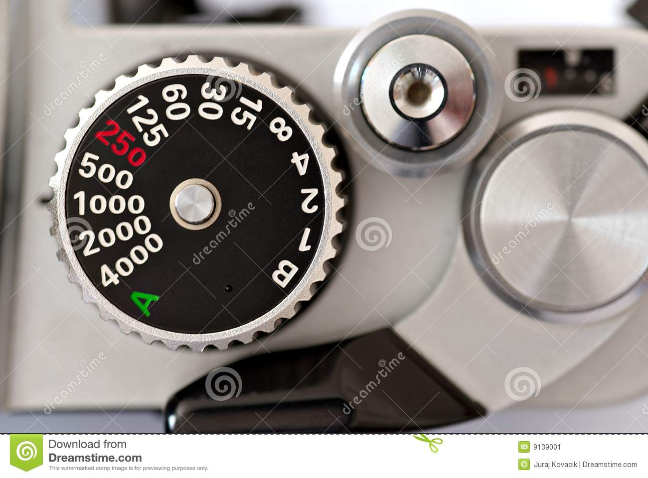 shutter speed dial stock image image of manual