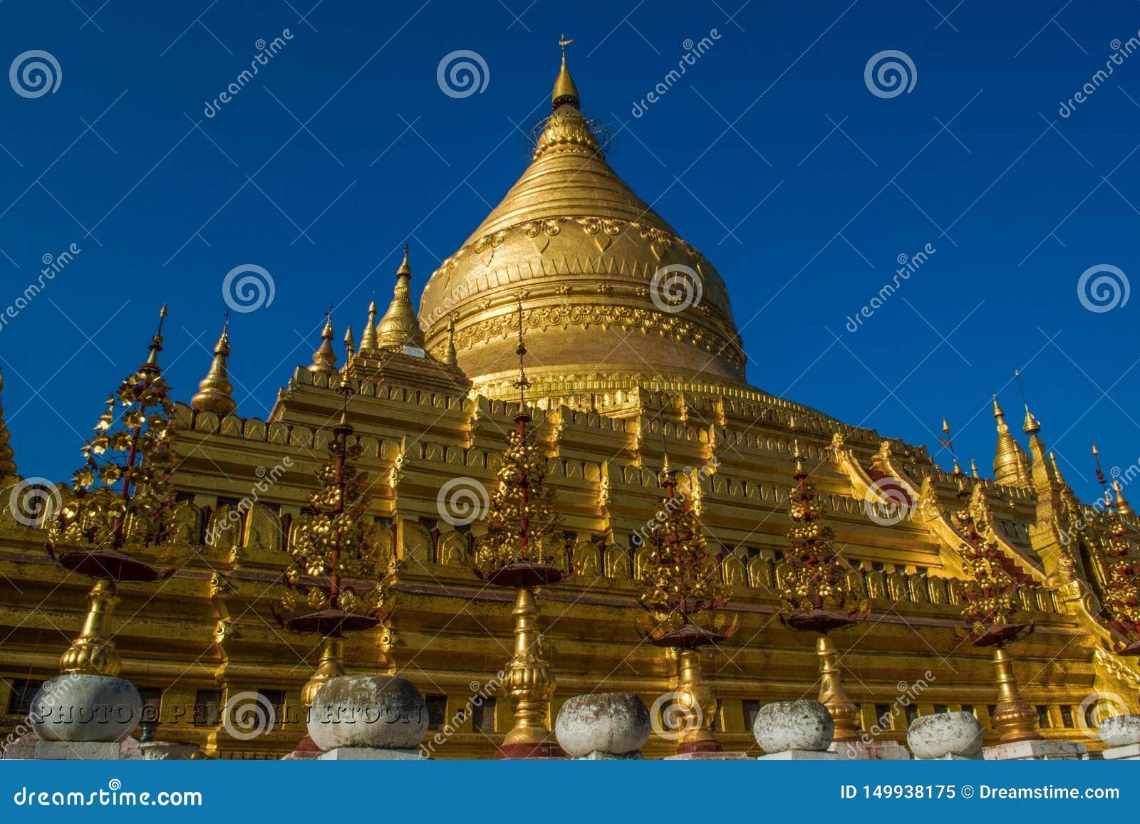 Shwe vê o pagode de Khone