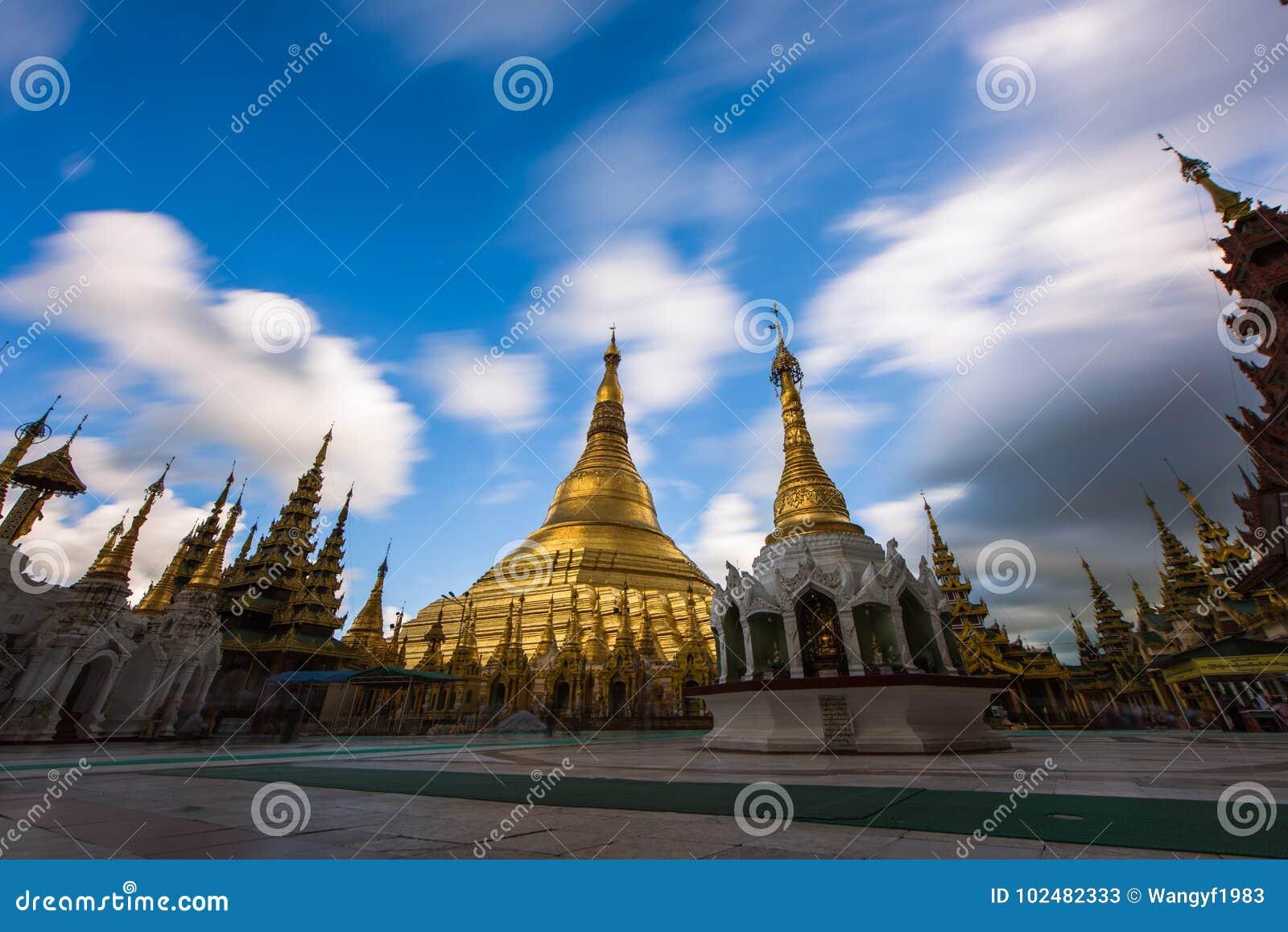 Shwedagon Pagoda-Rangún-Myanmar