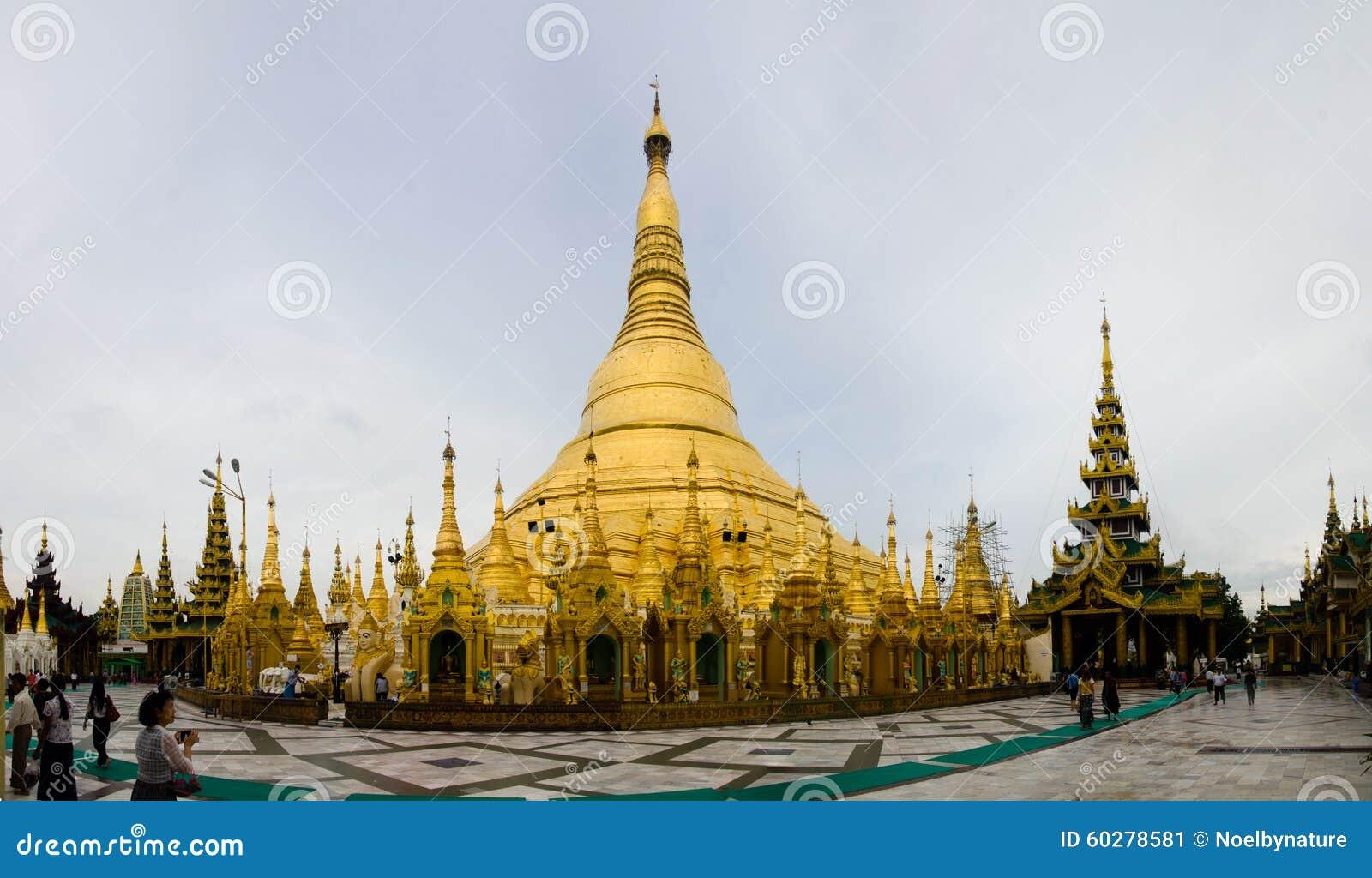 Shwedagon Pagoda Editorial Photo Image 60278581