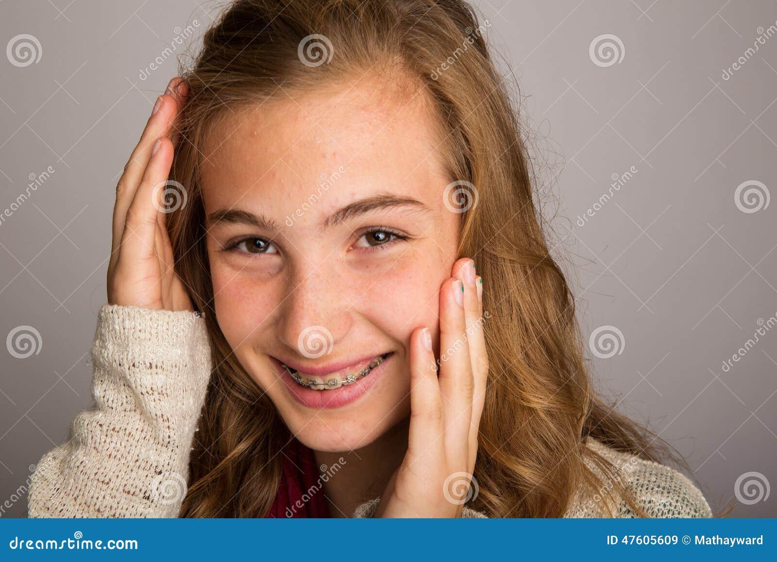 Tímida video chica Adolescente