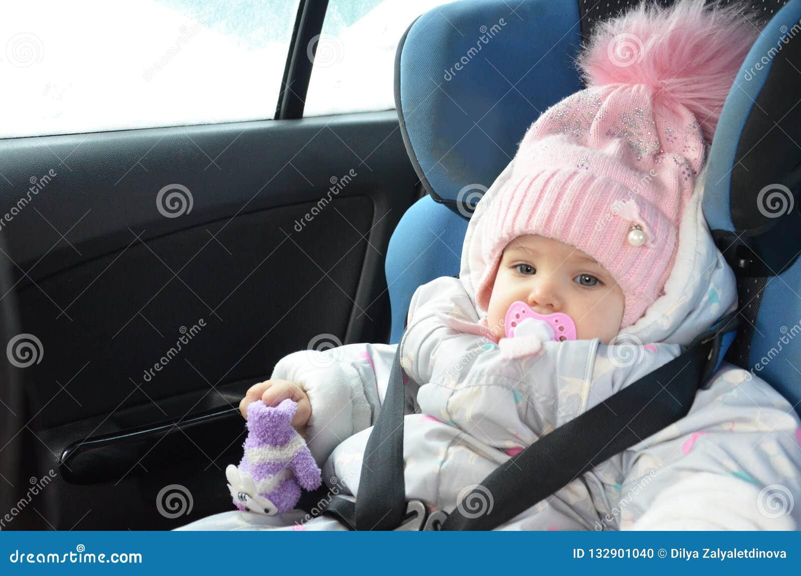 style à la mode vente énorme couleurs harmonieuses Siège De Sécurité Pour Le Bébé Dans La Voiture Peu Fille ...