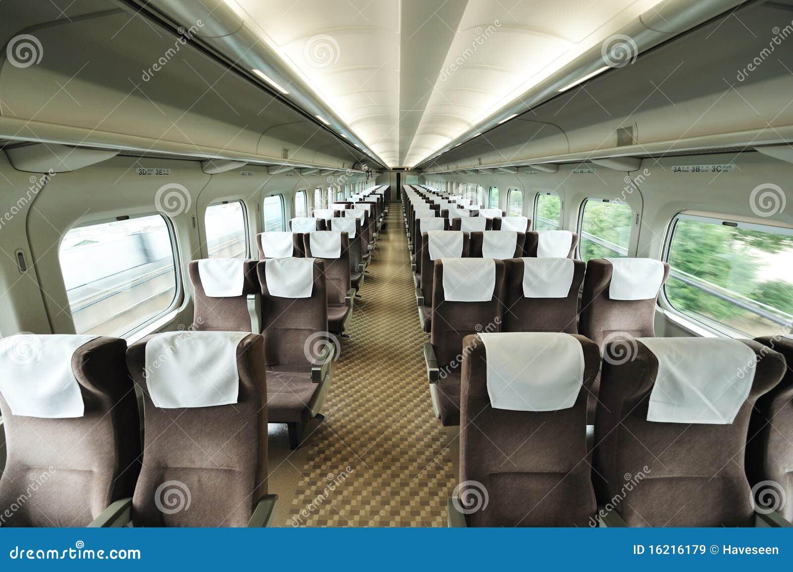 Siège de véhicule de train