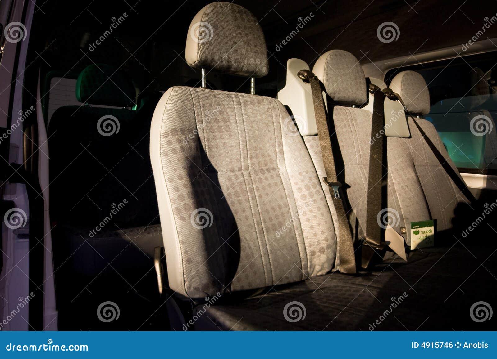 Sièges à l intérieur de d un véhicule
