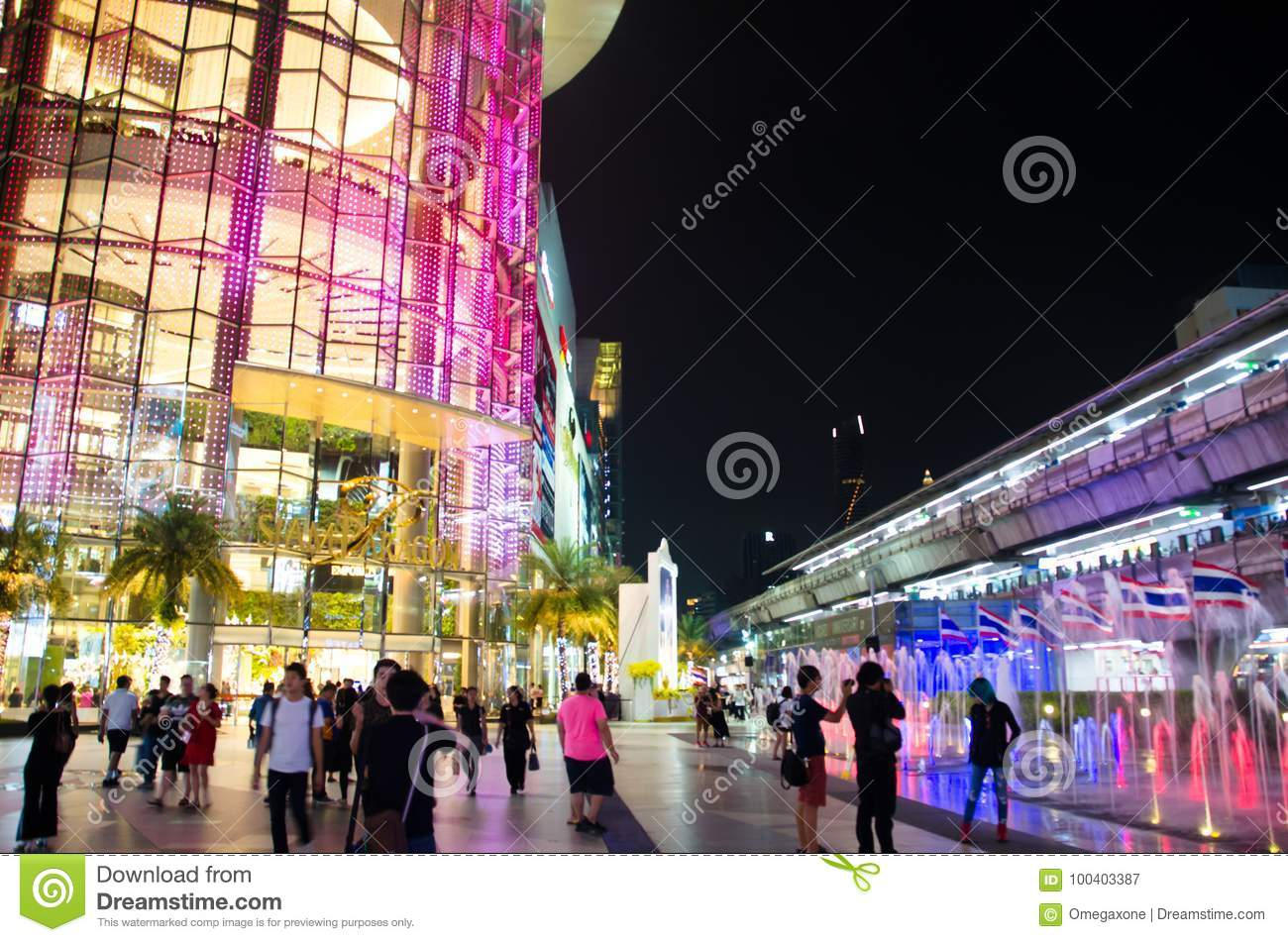 Siam Paragon Is An 8-storey Building And Two Underground