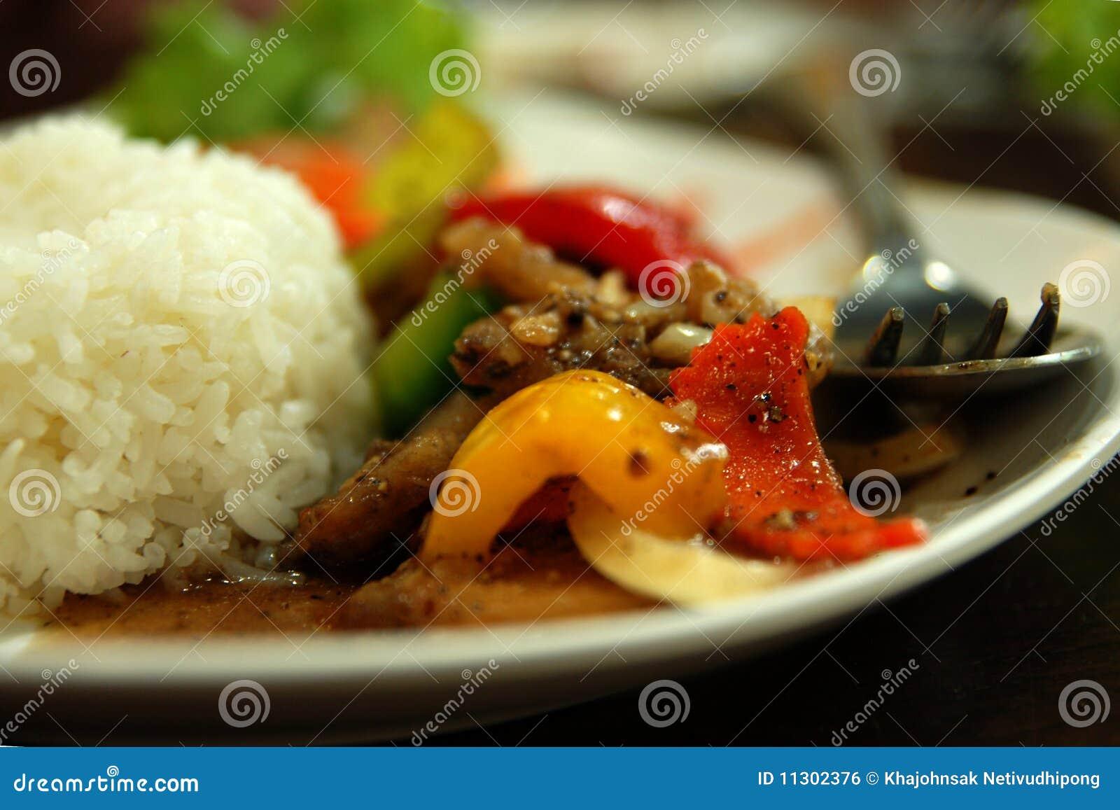 Siamesische Mahlzeit