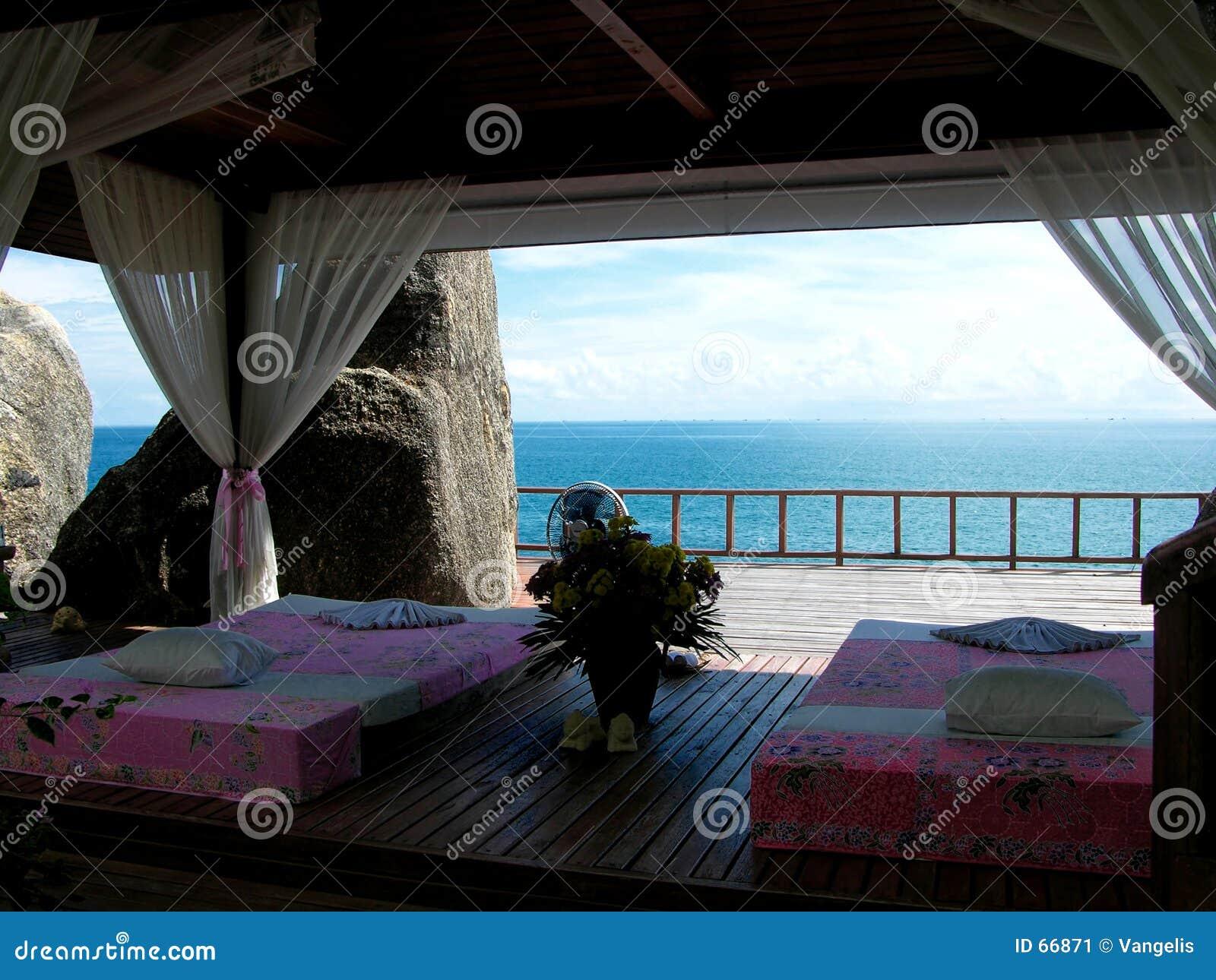 Siamesischer Massage-Bereich