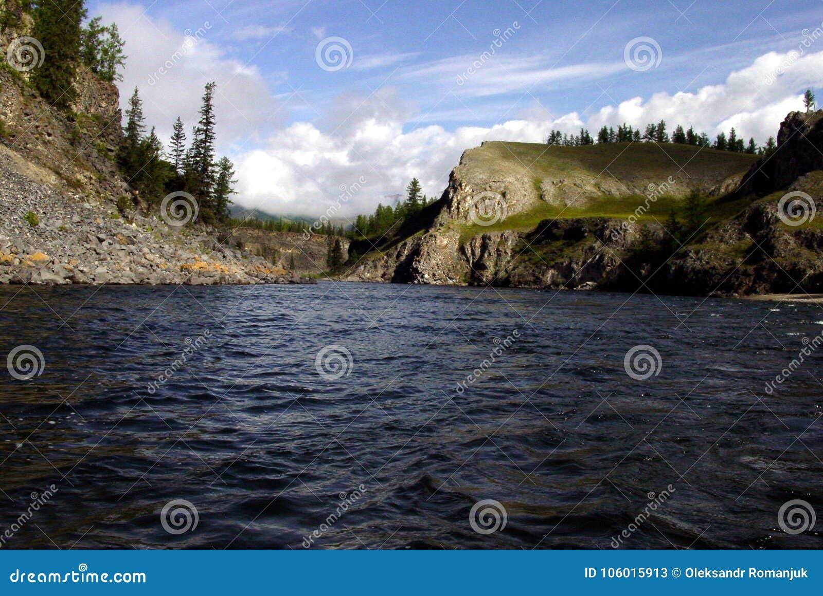 Sibéria, lago da pureza