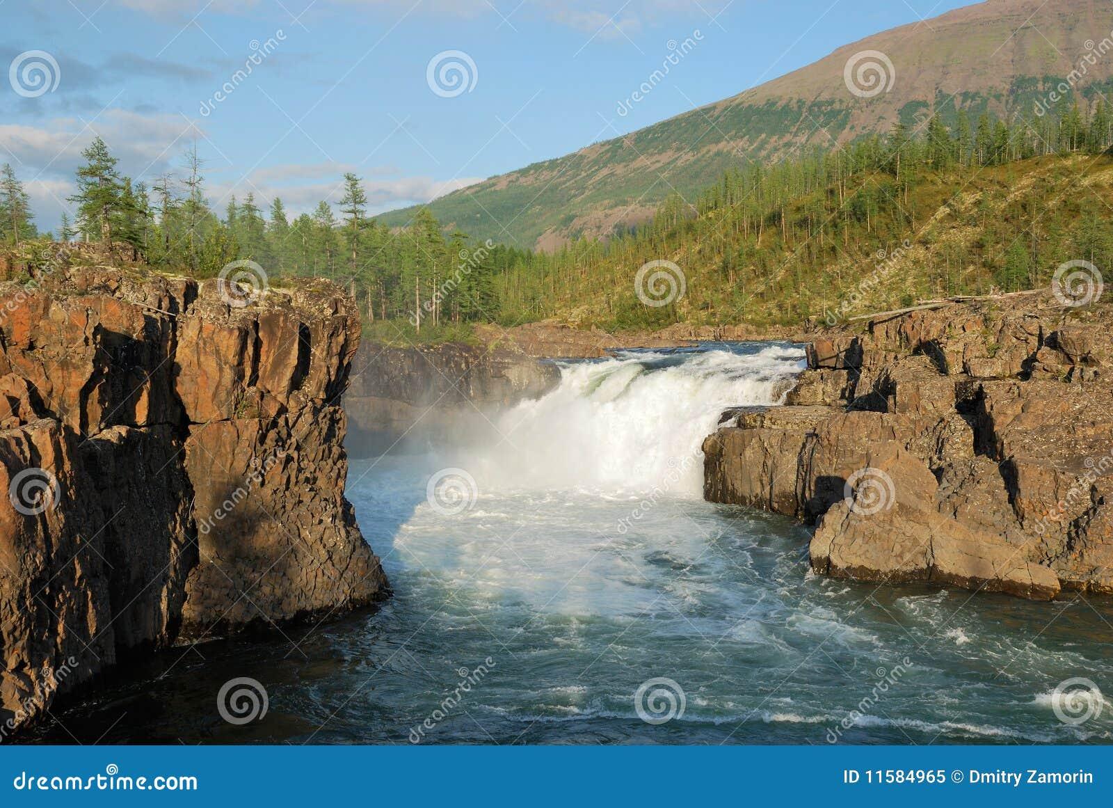 Siberia. Putorana plateau. Yaktali river