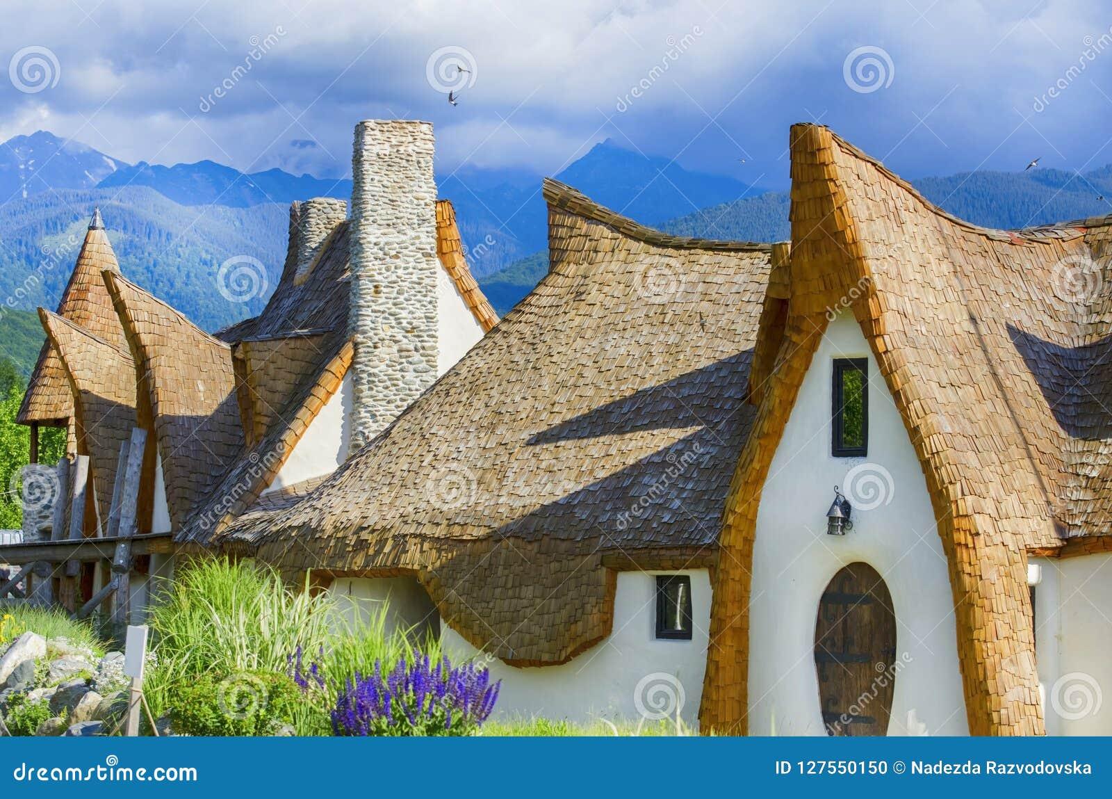Sibiu, Romania Fairytale castle Castelul de Lut, Valea Zanelor
