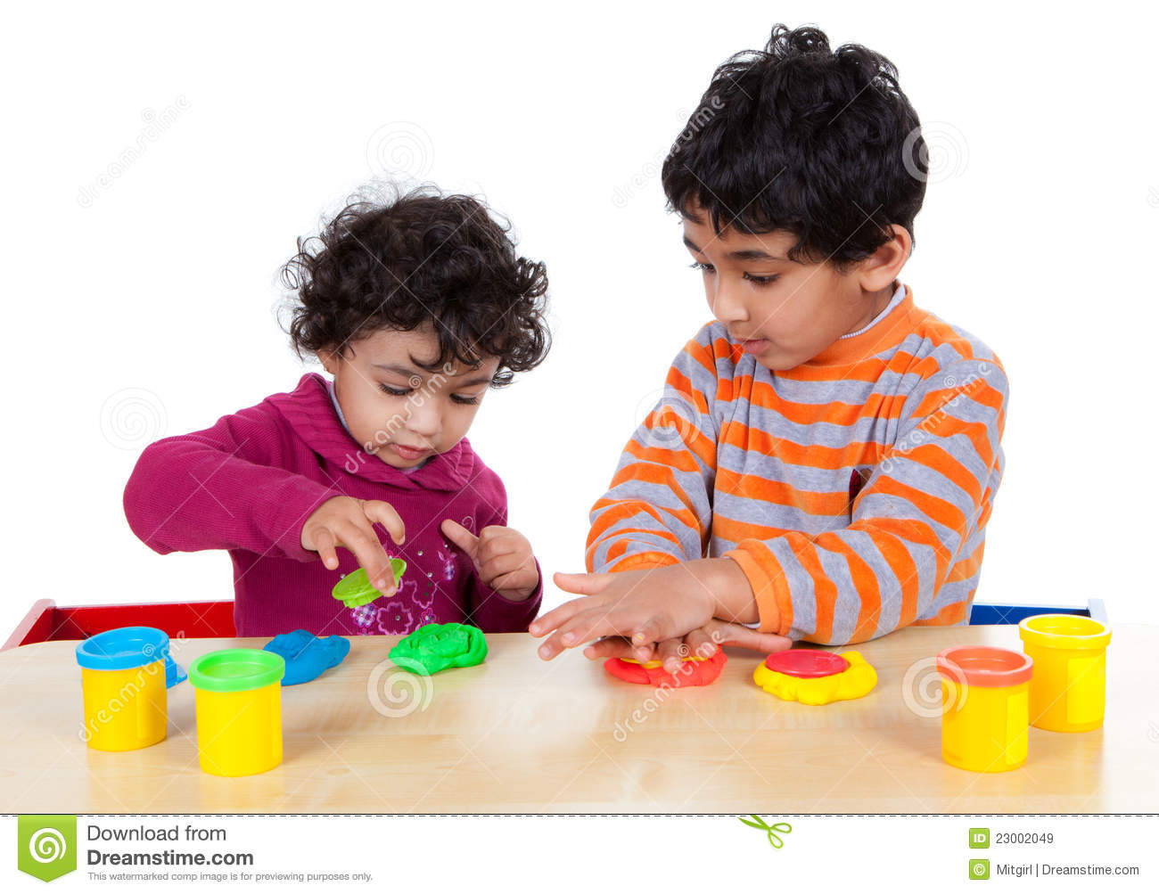 siblings playing with play dough stock image image of playdough clipart logo play doh clipart